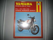 NOS Haynes Yamaha Owners Workshop Manual 1980-1982 RD250 RD350 247cc-347cc #803