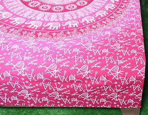 Single Size Mandala Tapestry Printed Wallhanging Cotton Wall Decor Yoga Throw
