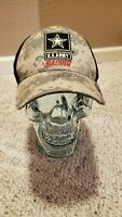 """NHRA Army racing hat signed by Tony """"sarge"""" Schumacher NICE!"""