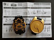 Power Rangers Super Samurai Negro Caja Morpher & Hebilla de Cinturón Soporte de Disco con 2 D