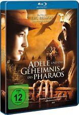 ADELE UND DAS GEHEIMNIS DES PHARAO (Louise Bourgoin) Blu-ray Disc NEU+OVP