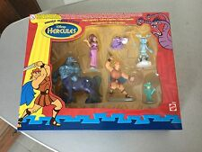 1996# VINTAGE MATTEL Disney HERCULES Simply Legendary  Action 6 Figures Set