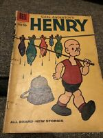 Carl Anderson's Vintage Henry # 62 Comic 1960