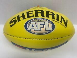 AFL 2020 RICHMOND TIGERS SHERRIN OFFICIAL LEATHER GAME FOOTBALL Premiers Martin