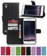 For OPPO F1F/A35 New Litchi Leather wallet flip stand pouch Cover Skin Case