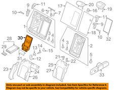 AUDI OEM 16-18 A3 Sportback e-tron Rear Seat-Armrest Retainer 5G0885961E9B9