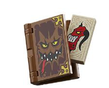 Lego 2016 nexo knights jestro's volcano lair 70323 book of monsters minifigure