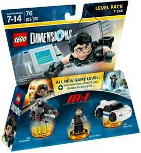 LEGO DIMENSIONS #71248 MISSION IMPOSSIBLE LEVEL PACK  MINIFIGURE RETIRED NEW