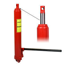 8 Ton Long Ram Manual Hydraulic Jack Cherry Picker piston pump new