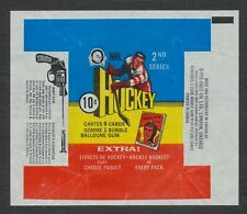 1971-72 OPC Series 2 Hockey Wax Pack Wrapper Vintage NHL O-Pee-Chee Rare