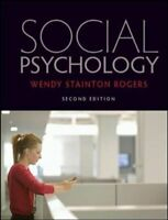 Social Psychology by Wendy Stainton Rogers 9780335240999 | Brand New