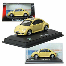 CARARAMA Volkswagen New Beetle / 1:72/ Yellow/ Children/ Mini car/ Toy/ miniatur