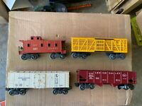 (4) Lionel Freight Cars With Original Boxes