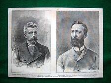 1886 - Il Conte Ottavio Lorena Di Maria e Bartolomeo Casalis