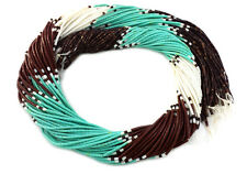 Green Turquoise Combination Heishi Beads (2 - 3 mm / 32 Inches Strand)