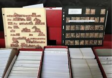 $1,000 Lot Cataloged World Stamps from Huge Dealer Stock 1800s 1900s Mint Used