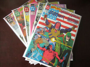 Brave and the Bold SET #1-6, 8.0 VF (1991 2nd Series)
