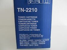 ORIGINALE BROTHER TONER TN-2210 Merce NUOVA + conf. orig. HL-2240 dcp-7065n