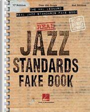 The Hal Leonard Real Jazz Standards Fake Book: C Edition Fake Books