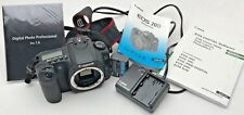 Canon 20D camera body, charger strap and BP511 Canon original battery