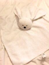Hema Amsterdam White Towelling Rabbit Baby Toy Comforter
