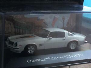 American cars. CHEVROLET CAMARO Z28. 1977.  1:43