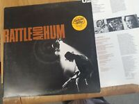 U2 – Rattle & Hum Double Album – Gatefold 2 X LP Vinyl Record