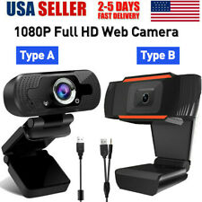HD 1080P Auto Focusing USB Webcam Computer Web Camera+Microphone Video Recording