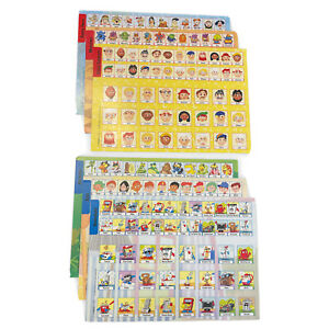 Electronic Guess Who Extra Replacement Character Boards 6 Pieces Parts 2008