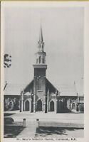 VTG St Mary's Catholic Church in Claremont New Hampshire NH Postcard