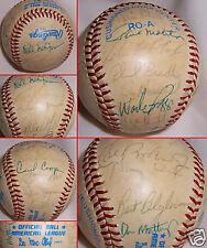 1980's Autograph ALL Star Baseball Ripken, Mattingly, +