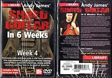 Hal Leonard Lick Library Andy James' Shred Guitar in 6 Weeks Week 4