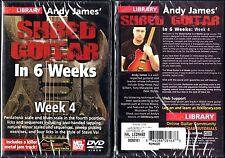 Hal Leonard Lick Library Andy James' Shred Guitar in 6 Weeks Week 4