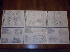 G.I. Joe 1987 Defiant Space Launch Complex Blueprints & Instructions !