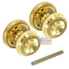 65mm cuivre GÉORGIEN mortaise bouton poignée de porte rond style Inc TIGE &