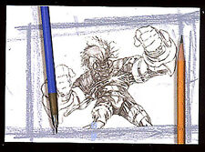 "Joe Quesada & Jimmy Palmiotti's ASH - ""Sketch"" Chase Card #3 - Look Out Below"