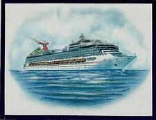 Original Art Work ...ms CARNIVAL SUNSHINE ...cruise ship...CCL