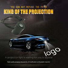 For TOYOTA  Led Projector Shadow Rear plate laser Fog  Light Car Tail logo lamp