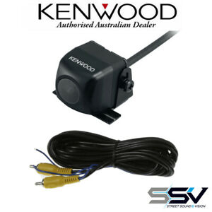 Kenwood CMOS-130 Universal Car Rear View With 6M G5MRCA Single RCA Cable Reverse