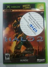 Halo 2  (Xbox, 2004) Microsoft Company Store Sticker Instructions Included