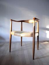 Vintage Mid Century Danish Modern Hans Wegner Style 50 s 60 s fauteuil Easy Chair