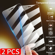 2Pcs Tempered Glass Film Screen Protector For Apple iPhone 12 Pro Max Mini 11 XR