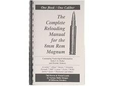 8mm Remington Magnum Reloading Manual LOADBOOKS USA !! 8mm Rem Mag  NEW