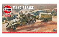 Airfix Half-Track M3 1:76 Scale Plastic Model Kit A02318V