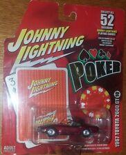 JL Johnny lightning POKER Ser.1 1967 Toyota 2000 GT w/ Cards & Chip