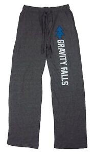 Mens Womens NEW Disney Gravity Falls Gray Pajama Lounge Sleep Pants Size XS-2XL