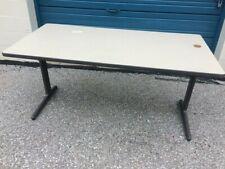 "Vintage Herman Miller Eames Aluminum Group 59""L x 29""W x25""H  Rectangle Table -"