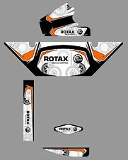 CRG EUROPEAN STYLE ROTAX RADIATOR STICKER KIT - KARTING