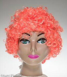 Clown Wig Short Loose Curl Colorful Clown Character Cos Play Costume Wig