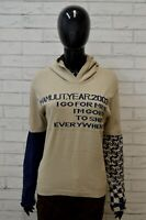 Maglione Donna MAMMUT Taglia Size L Pullover Felpa con Cappuccio Sweater Woman